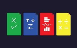 Símbolo de ações Foto de Stock Royalty Free