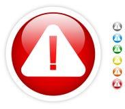 Símbolo de advertência ilustração stock
