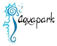 Símbolo de Aquapark Imágenes de archivo libres de regalías