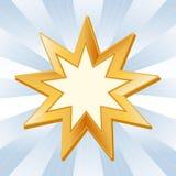 Símbolo de Baha'i ilustración del vector