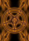 Símbolo de Baphomet Foto de Stock Royalty Free
