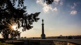 Símbolo de Belgrado - vencedor foto de stock royalty free