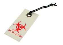 Símbolo de Biohazard Foto de archivo libre de regalías