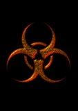 Símbolo de Biohazard Fotografía de archivo libre de regalías