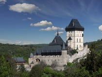 Símbolo de Boêmia da joia da história da herança do marco do castelo de Karlstein Imagens de Stock Royalty Free