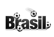 Símbolo de Brasil 3d Fotos de Stock Royalty Free