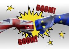 Símbolo de Brexit do referendo ilustração royalty free
