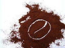 Símbolo de Caffee Imágenes de archivo libres de regalías