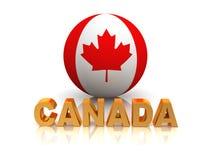 Símbolo de Canadá ilustração do vetor