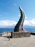Símbolo de Crete - esquina del toro Fotos de archivo libres de regalías