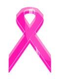 Símbolo de cristal cor-de-rosa da fita Imagem de Stock Royalty Free