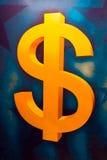 Símbolo de dólar americano Foto de archivo