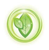 Símbolo de Eco Fotografía de archivo libre de regalías
