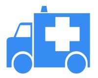 Símbolo de la ambulancia Foto de archivo
