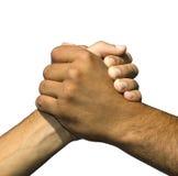 Símbolo de la amistad y de la paz Fotos de archivo