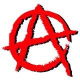 Símbolo de la anarquía Imagenes de archivo