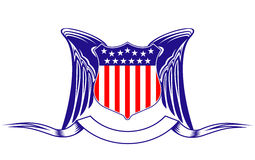 Símbolo de la armería de los E.E.U.U. ilustración del vector