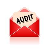 Símbolo de la auditoría del vector Fotos de archivo