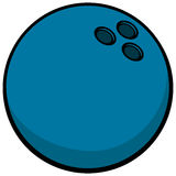 Símbolo de la bola de bolos Fotografía de archivo