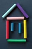 Símbolo de la casa. Imagenes de archivo