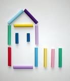 Símbolo de la casa. Imagen de archivo libre de regalías