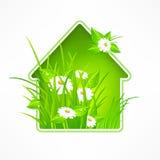 Símbolo de la casa Foto de archivo libre de regalías