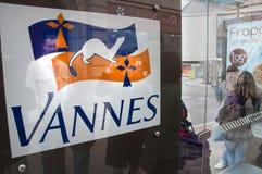 Símbolo de la ciudad de Vannes, Francia Imágenes de archivo libres de regalías