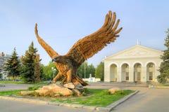 Símbolo de la ciudad Oryol imagen de archivo