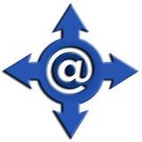 Símbolo de la comunicación Foto de archivo