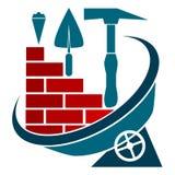 Símbolo de la construcción Fotografía de archivo