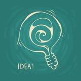 Símbolo de la idea Imagen de archivo