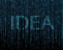 Símbolo de la idea Fotografía de archivo