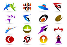 Símbolo de la insignia Imagen de archivo libre de regalías