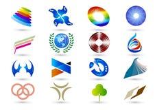 Símbolo de la insignia Foto de archivo