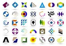 Símbolo de la insignia stock de ilustración