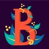Símbolo de la letra B Diseño de logotipo Diseño gráfico stock de ilustración