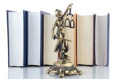 Símbolo de la ley y de la justicia Fotografía de archivo libre de regalías