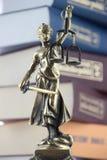Símbolo de la ley y de la justicia Imagen de archivo libre de regalías