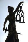 Símbolo de la ley y de la justicia Fotos de archivo libres de regalías