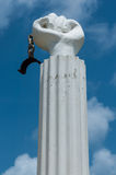 Símbolo de la libertad en Curaçao Imagen de archivo libre de regalías