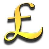 símbolo de la libra 3d Stock de ilustración