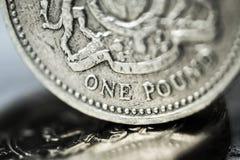 Símbolo de la libra Imagenes de archivo
