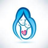 Símbolo de la madre y del niño