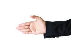 Símbolo de la mano Fotos de archivo libres de regalías