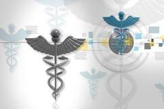 Símbolo de la medicina Imagenes de archivo