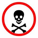 Símbolo de la muerte Imagen de archivo libre de regalías