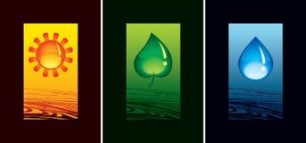 Símbolo de la naturaleza Fotos de archivo