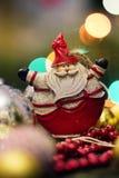 Símbolo de la Navidad Papá Noel en un trineo Fotos de archivo libres de regalías