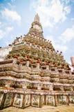 Símbolo de la pagoda en Tailandia Fotos de archivo libres de regalías