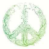 Símbolo de la paz Imagenes de archivo